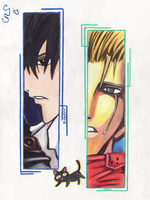 Trigun by daxyliora