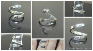 Sapphire Twister Ring by WallaceReg