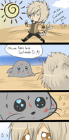AH-:: foca cute(?):: by bachadark93