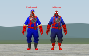 The Difference Between Erich And Spiderpyro by wolfthepredator