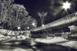 A Johnson Winter Night by IraMustyPhotography