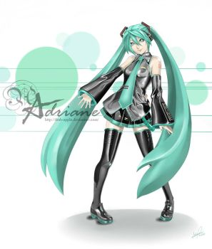 Project DIVA by DRAB-APPLE