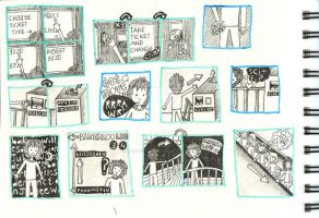 storyboard five by illustrationgirl