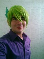 Spike MLP Cosplay Test. by brandonale
