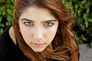 Turkish Girl With Magnificent Eyes by dincturk