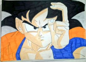 Son Goku by SimpleTheSaviour