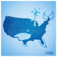 United Whale of America by AlbertoArni