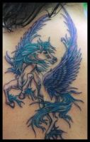 Pegasus tattoo by hellcatmolly