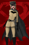 Red Son Batgirl by Icy-Princess