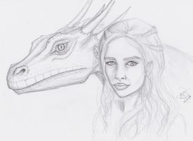 Mother of Dragons by Ukrainian-Angora