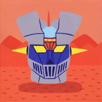 Head of Mazinger Z by Teagle
