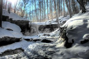 Blue Hen Falls - HDR by chris-stahl