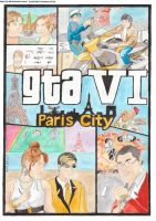 GTA 6 Paris My friends and me by CJ-DB
