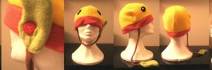Bellsprout Fleece Hat by KiraTakuto