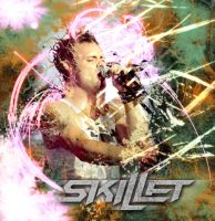 John Cooper of Skillet by Crestfalleen