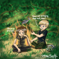 The Hunger Games: The Girl on Fire by alisagirard