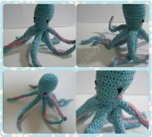 octopus amigurumi by sometimescake