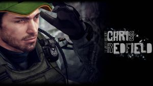 Chris Redfield Wallpaper by JhonyHebert