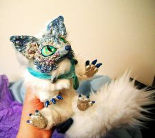 Posable Ice Kitsune Now for Sale by MaryBunnie