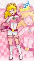 Go peach! by miri-chiwa