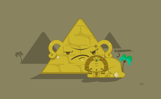 Lazy Sphinx by Cliffjumper78