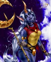 LOL Soraka by AlchemistXIII