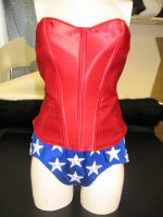 Wonder Woman corset and trunks by Vermithrax1