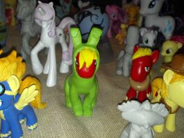 MLPFIM Bunny Big Mac + More customs by davisaroflmao