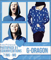 G-Dragon (Big Bang) - PHOTOPACK#01 by JeffvinyTwilight