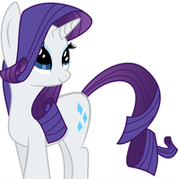 Rarity (another vector :P) by Lethal-Doorknob