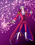 Magical Girl Alexander Hamilton by VoidStone