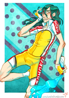 Yowamushi Pedal - Makishima by smokewithoutmirrors