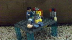 My Doctor Who LEGO interior 1/2 by superdude7000