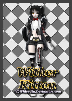 FNAF 2 Oc: Wither Kitten by White-Hu
