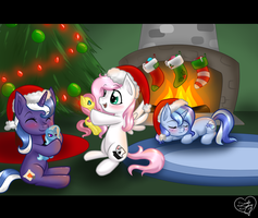 Commish: Meji's Christmas by DragonGirl983