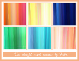 Colourful striped textures by mystique87