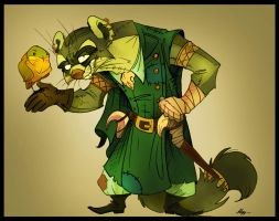 Redwall. Treasure Island. Patch Closter. by FortunataFox