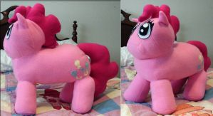 My Little Pony Chibi Pinkie Pie Plush by nenfere