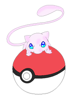 Mew_in_the_Pokeball by Mast88