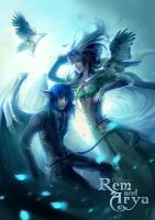 Rem and Arya by oione