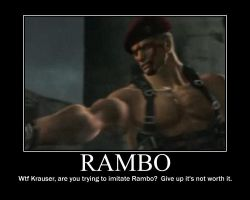Rambo by WeskerFangirl92