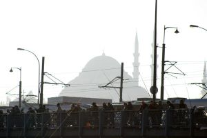 Mosque Silhouette by maharshi