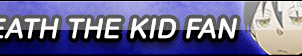 Death the Kid Fan Button [Commission] by SaKDra