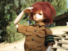 My boy scout by LadySquall