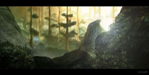 Forest Speedpaint by TheIllustrativeMan