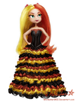 Doll Concept: Sunset Shimmer by Whitestar1802