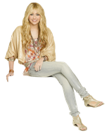 Hannah Montana PNG by CamiluchiEditions