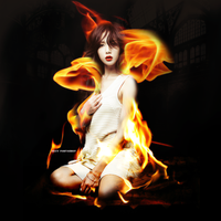 +Girl On Fire by TransilvaniaEditions