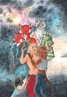Crew of the Sahara COPICS by mad-dragon249