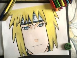 Minato Namikaze from the Anime Naruto. by NekoRish94